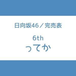 日向坂 完売表 6th